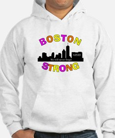BOSTON STRONG CURVED 3 Hoodie