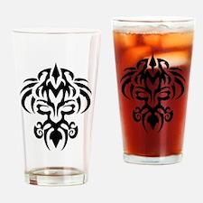 maori tatoo Drinking Glass