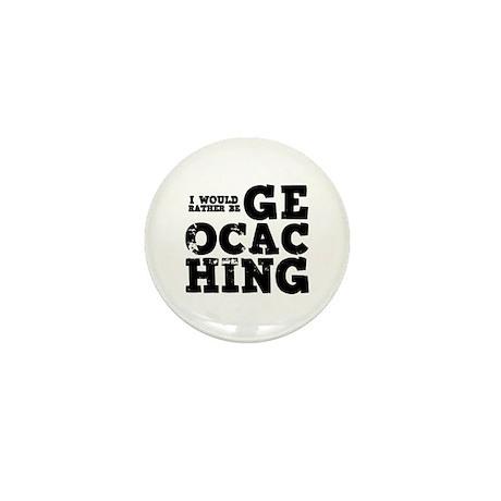 'Geocaching' Mini Button