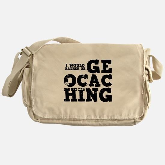 'Geocaching' Messenger Bag