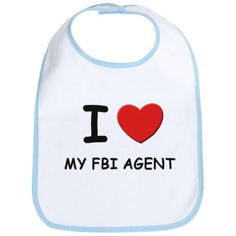 I love fbi agents Bib