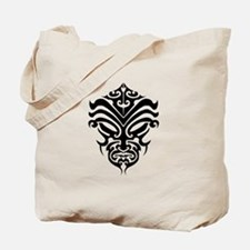 maori warrior face Tote Bag