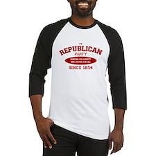 Republican Since 1854 (red print, oval) Baseball J