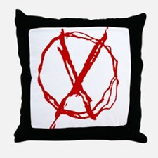 Operator Symbol Throw Pillow