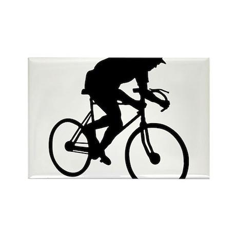 Biker Rectangle Magnet
