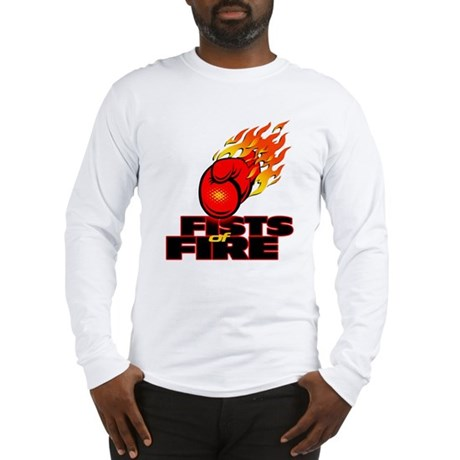 FISTS OF FIRE Long Sleeve T-Shirt
