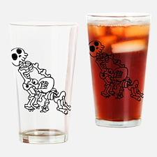 Blowjob bones Drinking Glass