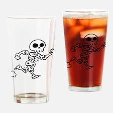 skeleton run Drinking Glass