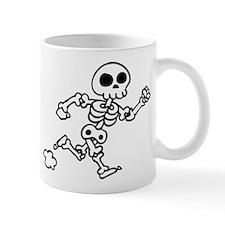 skeleton run Mug