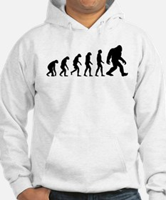 Evolution to Bigfoot The Ascent of Bigfoot Hoodie