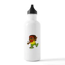 Rasta smoke Water Bottle