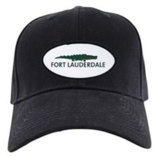 Fort Lauderdale - Alligator Design. Baseball Hat