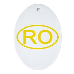 Romamia - RO Oval Oval Ornament
