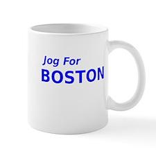Jog for Boston Mug
