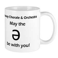 May the schwa be with you! Small Mugs
