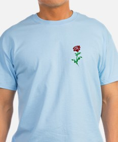 Autism Heart Rose T-Shirt