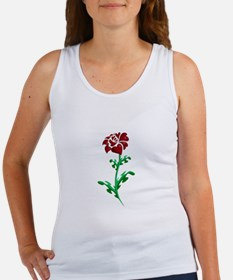 Autism Heart Rose Tank Top