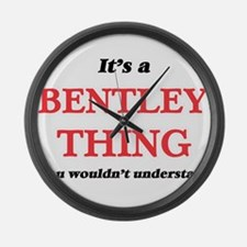 It's a Bentley thing, you wou Large Wall Clock