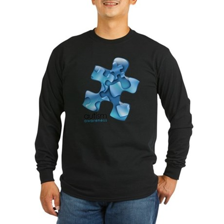 PuzzlesPuzzle (Blue) Long Sleeve T-Shirt