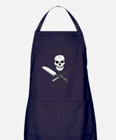 Cook. Drink. Sleep. Apron (dark)