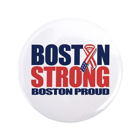 """Boston Strong 3.5"""" Button (100 pack)"""