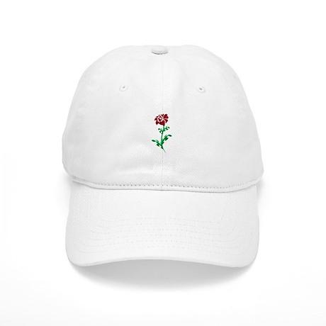 Autism Heart Rose Baseball Cap