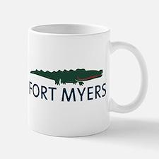 Fort Myers - Alligator Design. Mug
