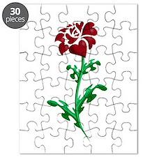 Autism Heart Rose Puzzle