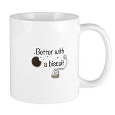 Better with a biscuit Mug