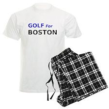 Golf for Boston Pajamas