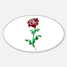 Autism Heart Rose Decal