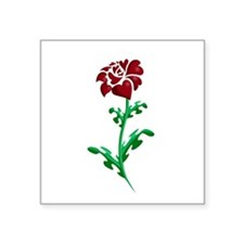 Autism Heart Rose Sticker