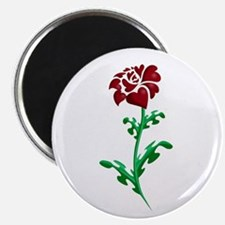 Autism Heart Rose Magnet
