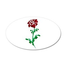 Autism Heart Rose Wall Decal