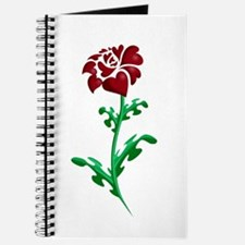 Autism Heart Rose Journal