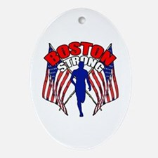 Boston Strong 11 Ornament (Oval)