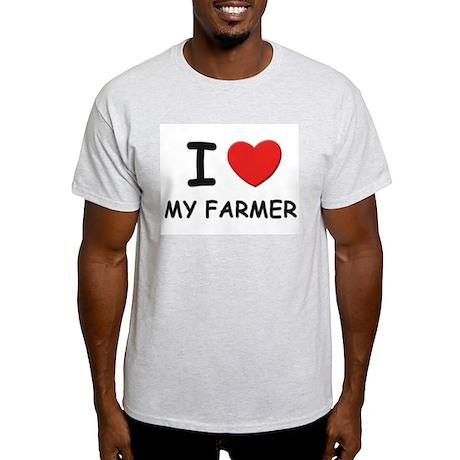 I love farmers Ash Grey T-Shirt