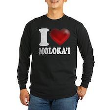 I Heart Molokai Long Sleeve T-Shirt