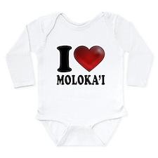 I Heart Molokai Body Suit