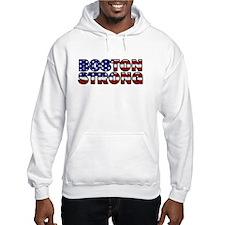 Boston Strong Flag Hoodie