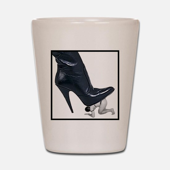 Giant Boot Stomp Shot Glass