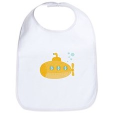 Yellow submarine with bubbles Bib