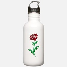 Autism Heart Rose Water Bottle