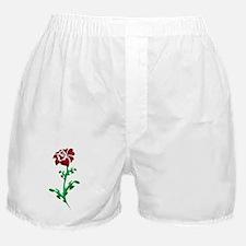 Autism Heart Rose Boxer Shorts