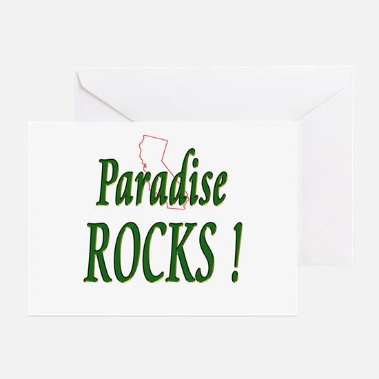 Paradise Rocks ! Greeting Cards (Pk of 10)