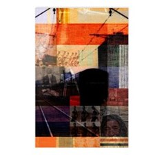 Graphic arts mixed media Postcards (Package of 8)