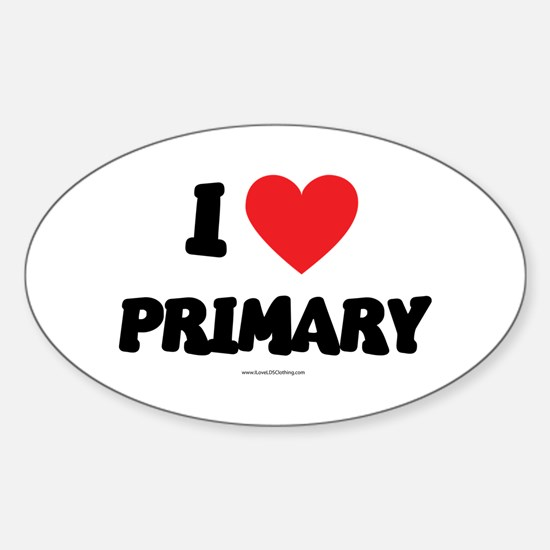 I Love Primary - LDS Clothing - LDS T-Shirts Stick