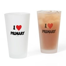 I Love Primary - LDS Clothing - LDS T-Shirts Drink