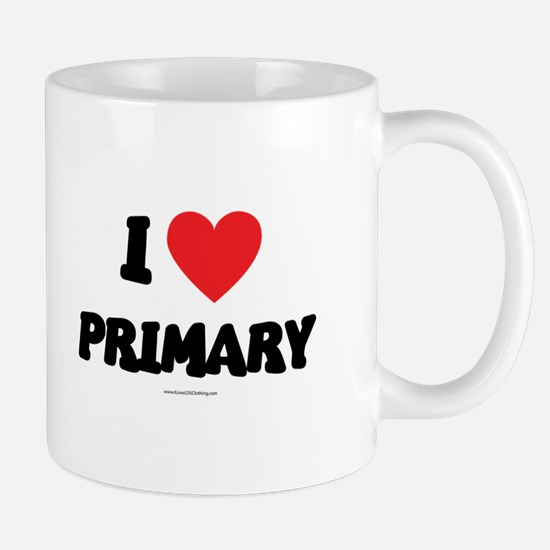 I Love Primary - LDS Clothing - LDS T-Shirts Mug