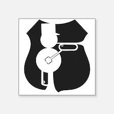 UP Railmen Alumni Logo Black on White Sticker